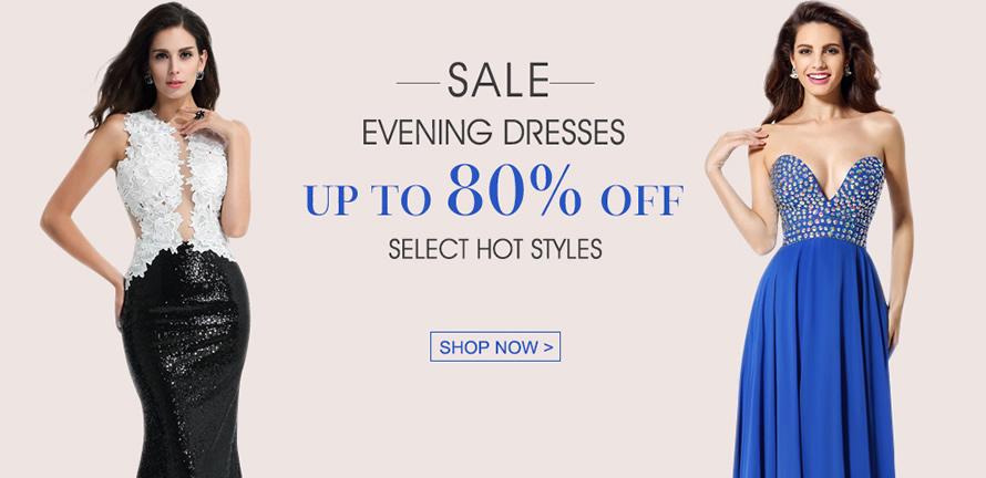 shop long evening dress on sale