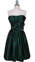 Show details for Beautiful Taffeta Pleated Bodice Cocktail Dress
