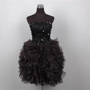 sophisticated cocktail dresses,black cocktail dress strapless