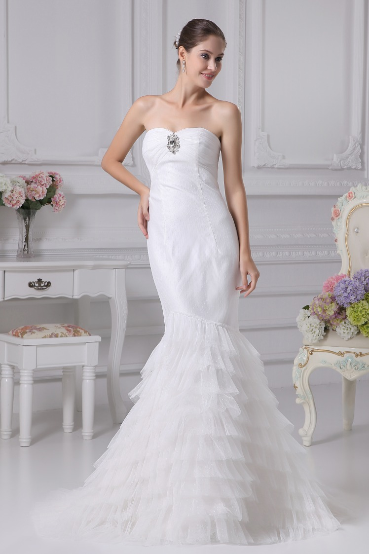 Strapless Mermaid Wedding Dresses 2013, Mermaid Long Evening Dresses