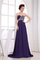 Show details for Purple Prom Dresses UK,Purple Chiffon Dress Long 2021