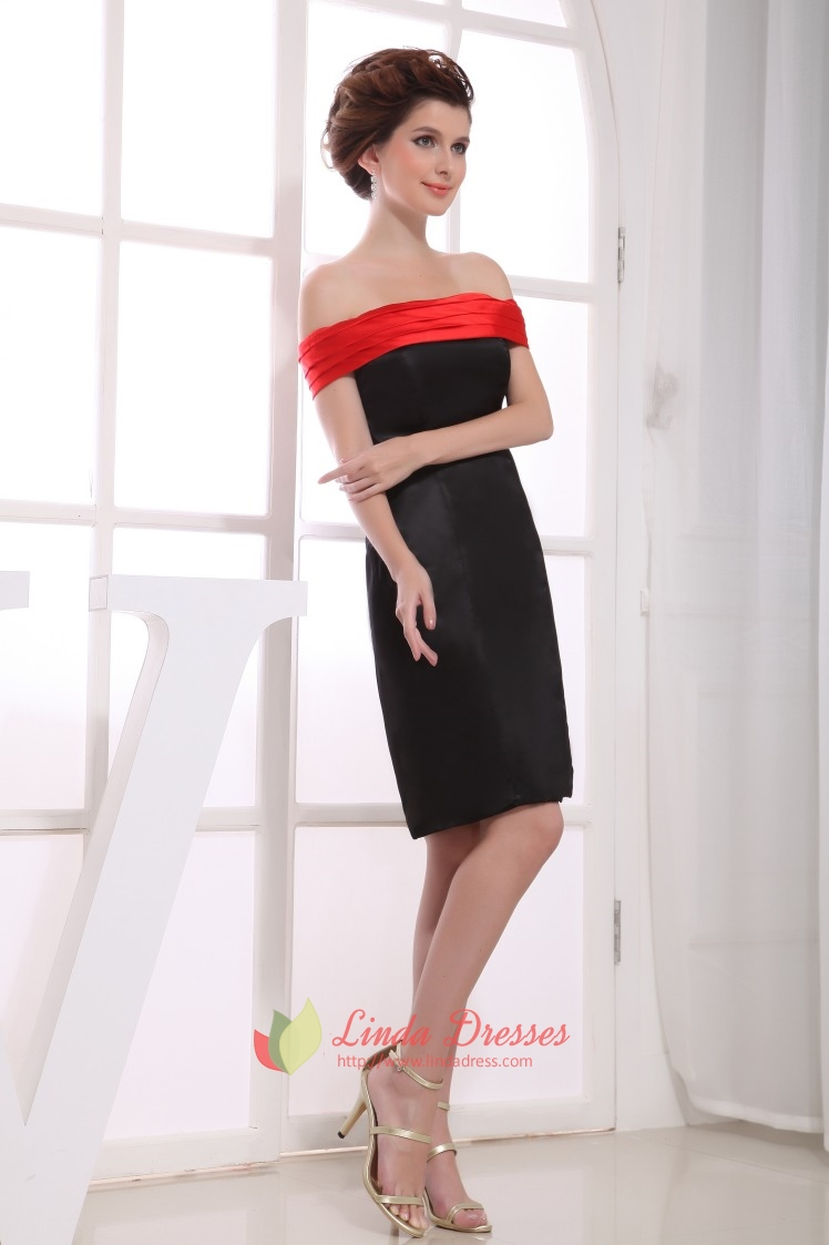 Dress Black And Red Dresses For Juniors Black Off Shoulder RedRed And Black Dresses For Juniors