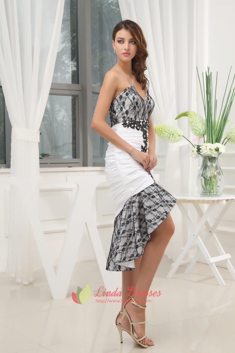 high low dresses casual lace - photo #35
