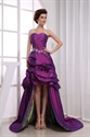 Show details for Purple High Low Prom Dresses,Purple High Low Ball Gowns Dress Casual