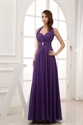 Show details for Purple Prom Dresses Long 2021,Purple Halter Neck Top Dress
