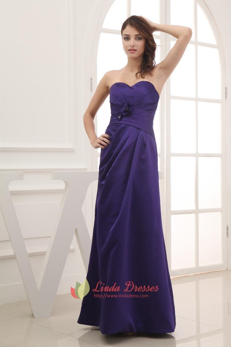 Dark purple bridesmaid dresses long purple bridesmaid for Dark purple wedding dresses