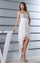 Show details for White High Low Dresses For Juniors,White Flowy Dress For Beach Sumer