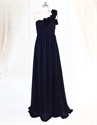 Show details for Navy Blue Bridesmaid Dresses Long UK,Navy Blue One Shoulder Bridesmaid Dresses