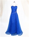 Show details for Blue Sweetheart Neckline Prom Dress,Royal Blue Prom Dresses Long 2021
