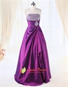Show details for Purple Prom Dresses With Sparkles Top,Violet Ball Gown Prom Dresses