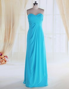 Turquoise Bridesmaid Dresses For Beach Wedding,Turquoise Dress For Wedding Guest