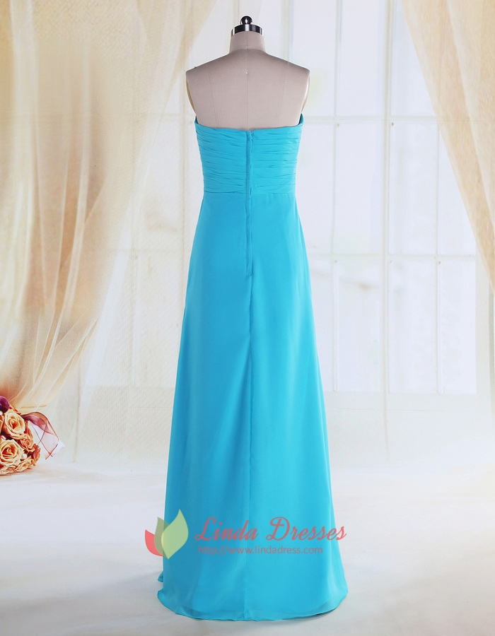 Turquoise Bridesmaid Dresses For Beach