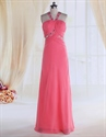 Show details for Hot Pink Prom Dresses With Straps,Pink Prom Dresses With Open Back