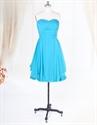 Show details for Short Aqua Blue Bridesmaid Dresses For Beach Wedding,Light Aqua Blue Bridesmaid Dresses