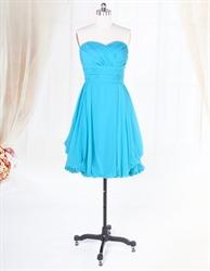 Short Aqua Blue Bridesmaid Dresses For Beach Wedding,Light Aqua Blue Bridesmaid Dresses