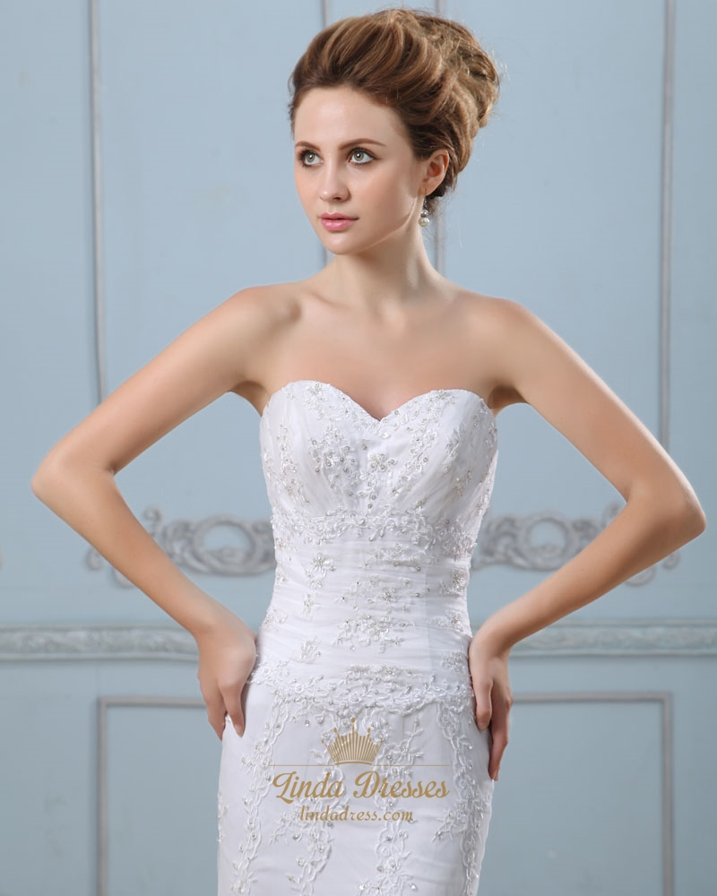 Strapless wedding dress with lace up back bridesmaid dresses for Bra for strapless wedding dress