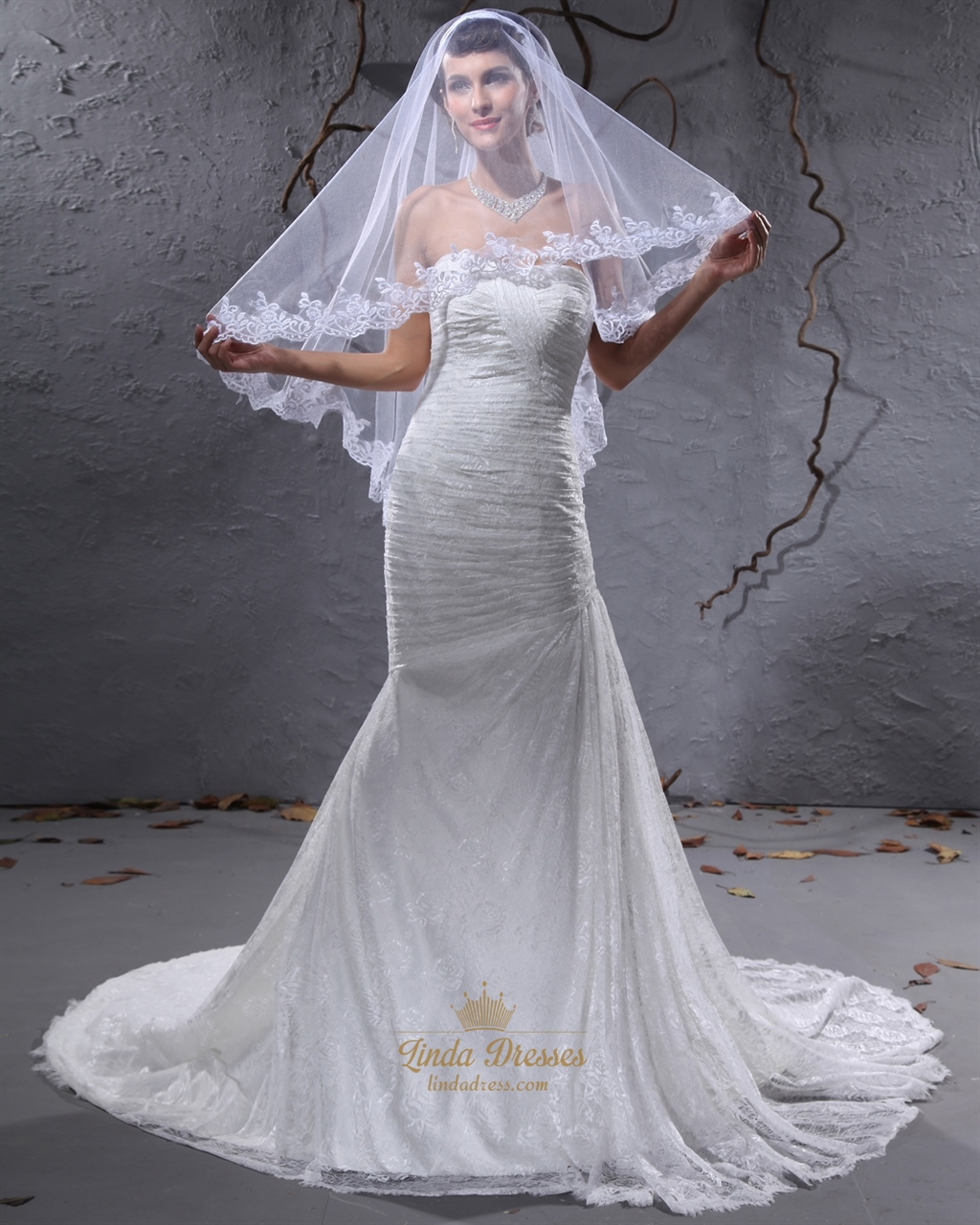Mermaid Wedding Dress Petite