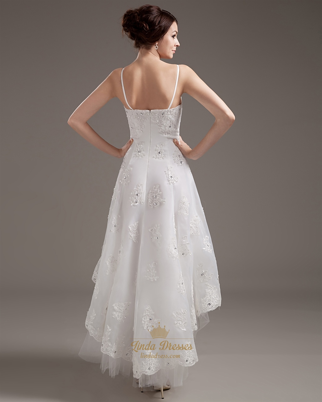 list detail plus size high low wedding dresses hi low wedding dress High Low Plus Size Wedding Dresses