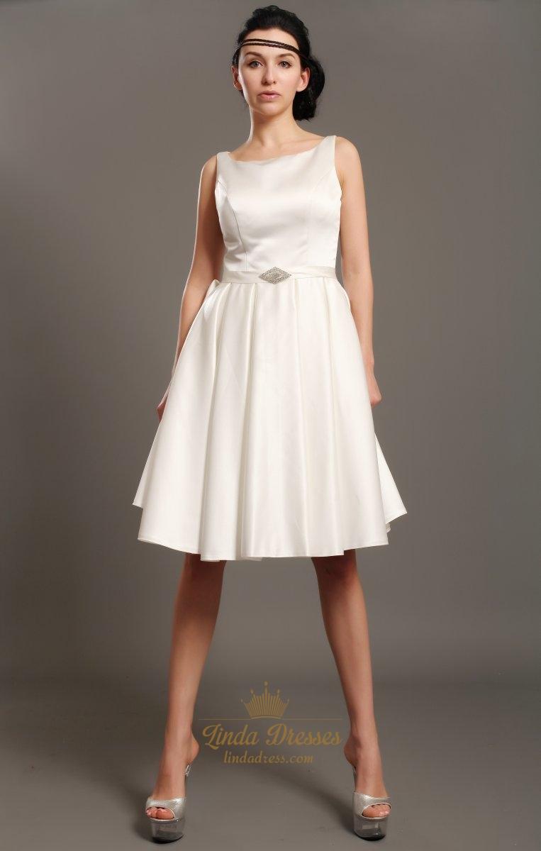 Simple Elegant Short Wedding Dresses Linda Dress