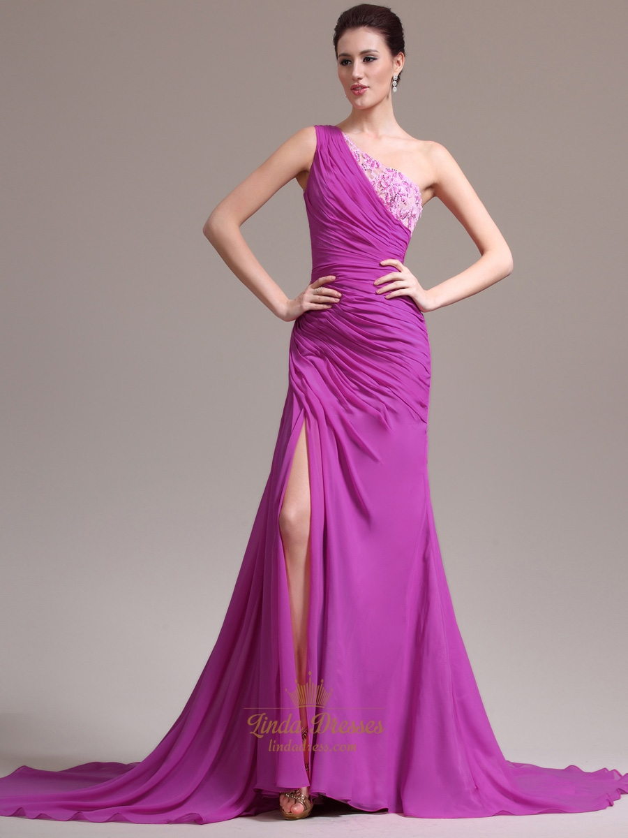 Prom Dress With Slits On The Side | Linda Dress