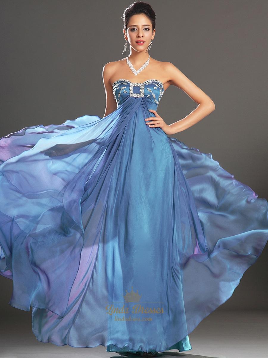 Sweetheart Empire Waist Prom Dresses | Linda Dress