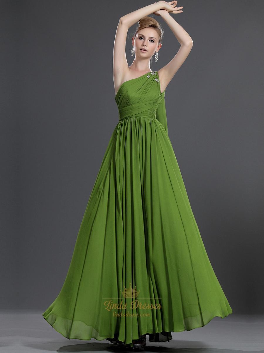 Green Apple bridesmaid dress