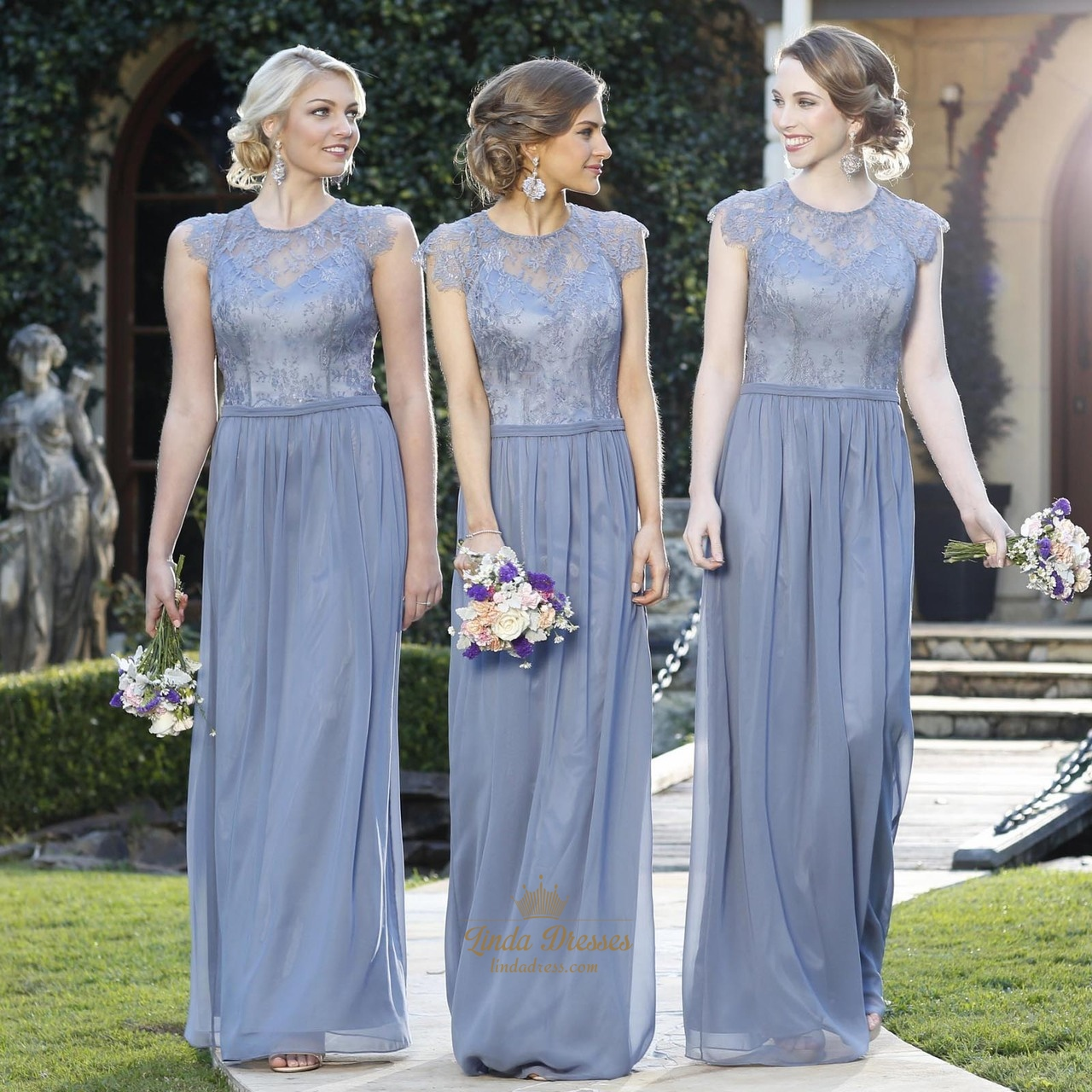 Light blue bridesmaid dresses with straps and lace cap sleeves light blue bridesmaid dresses with straps and lace cap sleeves overlay top ombrellifo Choice Image