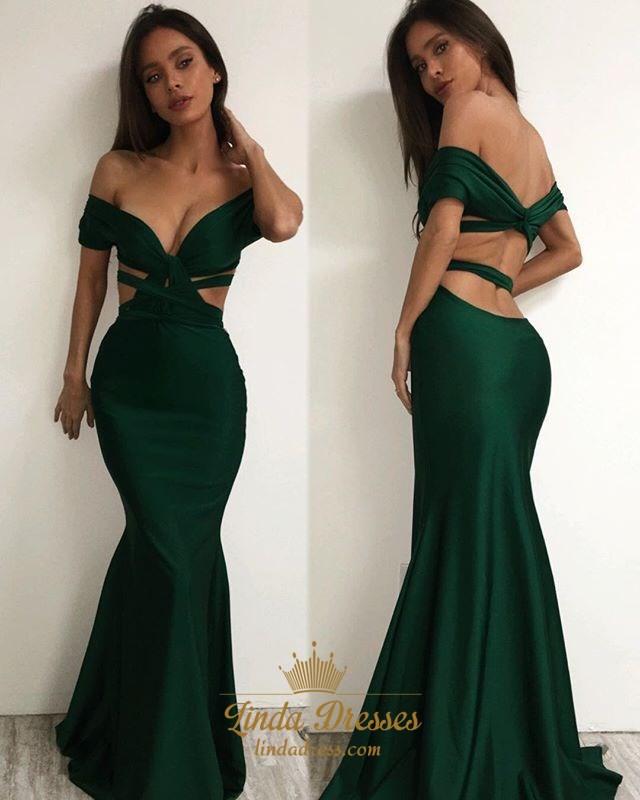 Green Elegant Dresses
