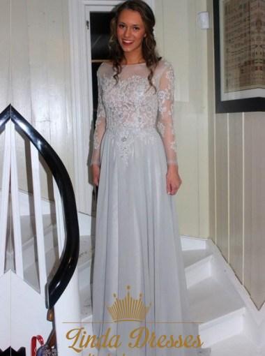 Long Sleeve White Maxi Dress
