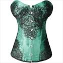 Show details for Lace Embellished Overbust Shaper Court Royal Corset
