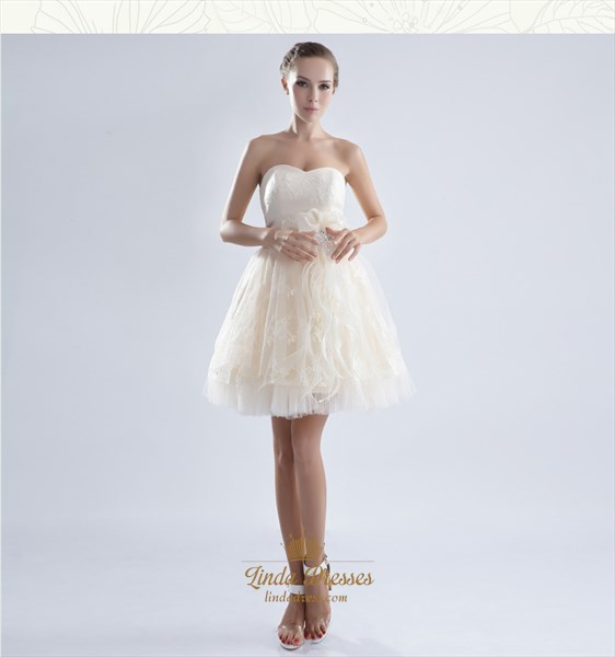 White Cocktail Dresses For Women,White Cocktail Dresses With Lace Overlay