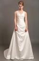 Show details for Ivory Elegant A Line V-Neck Empire Waist Wedding Dresses With Beading