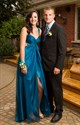 Show details for Sleeveless Empire Waist Floor-Length A-Line Prom Dress With Cutouts