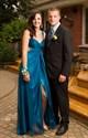 Sleeveless Empire Waist Floor-Length A-Line Prom Dress With Cutouts