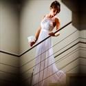 Show details for Sleeveless Lace Bodice A-Line Floor-Length Chiffon Beach Wedding Dress