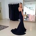 Show details for Trumpet/Mermaid Black Strapless Sweetheart Floor-Length Evening Dress