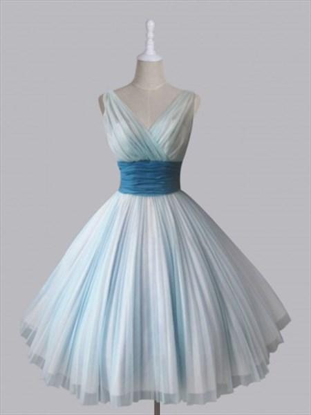 Sleeveless Empire Waist V-Neck A-Line Ruched Chiffon Homecoming Dress