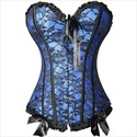 Show details for Sweetheart Lace Embellished Shaper Corset Dress With Bowknot
