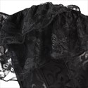 Show details for Jacquard Court Shaper Corset With Lace Embellished