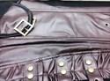Show details for Leather Halter Overbust Shaper Court Royal Corset